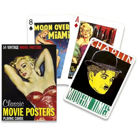 Piatnik Classic Movie Posters Playing Cards